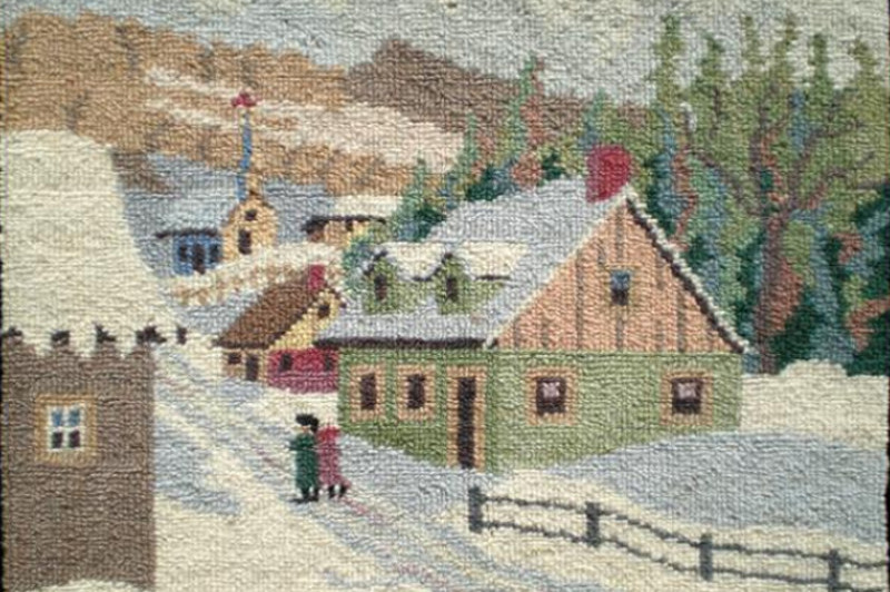Nestled On The Northwest Coast Of Cape Breton Well Known For Its French Acadian Culture And Deep Rooted Traditions One Which Is Rug Hooking